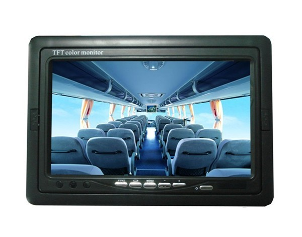 7 Quot Color Lcd Rear View Monitor Jb788 Bus Rear View Series